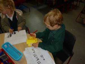 Learning in Reception
